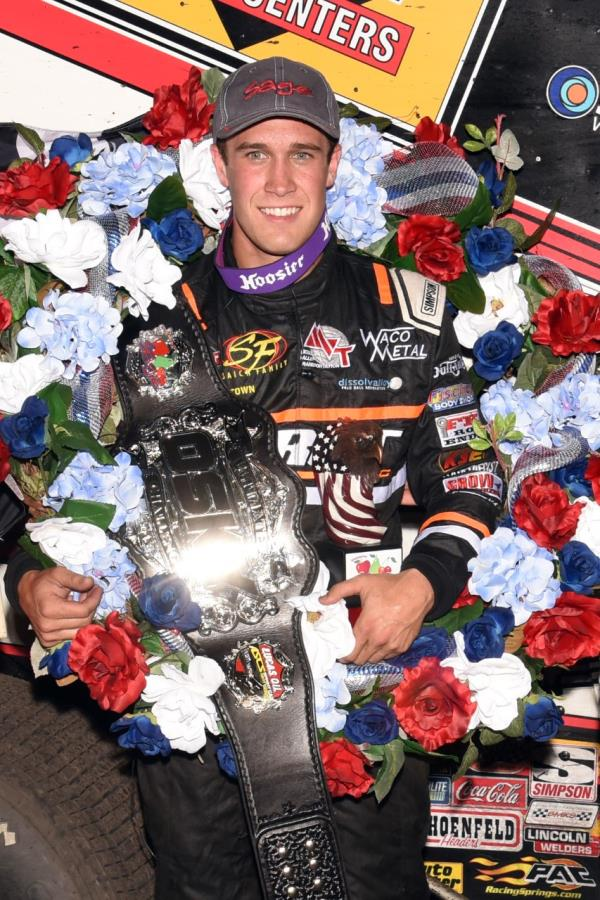 Strange Car is No Issue For Carson Macedo in Ultimate ASCS Challenge Win!