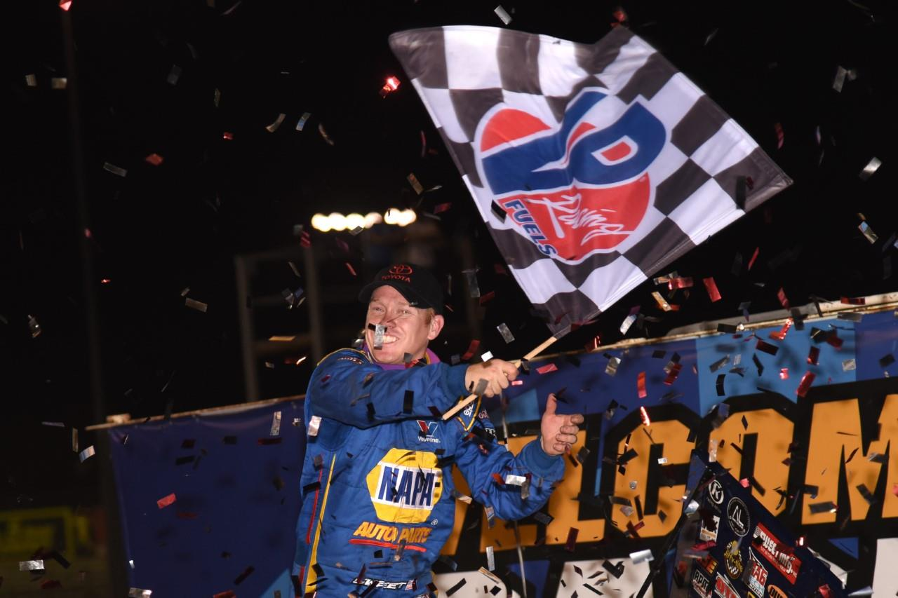 Brad Sweet dominated night #2 of the Knoxville Nationals Thursday (Paul Arch Photo)