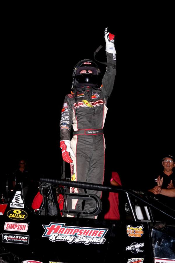 Kody Swanson Becomes Winningest Silver Crown Driver with Salem Score