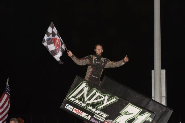 Parker Price-Miller/Kerry Madsen Weekend Winners with Midwest Thunder Sprints Presented by OpenWheel101.com!