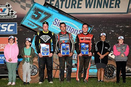 Matt Dumesny picked up the USC NSW stop at Valvoline Raceway (USC PR)