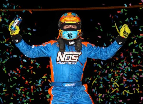 Sunshine Double-Dips in Ocala with Second Straight USAC Midget Victory