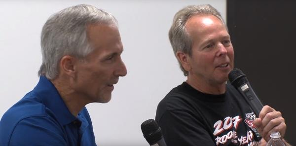 "Brad Doty and Jac Haudenschild: ""Talking with the Hall of Famers"""