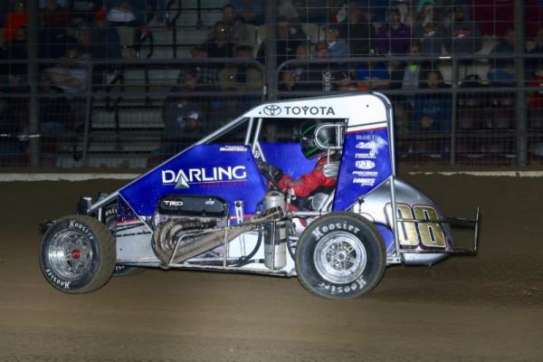 Cannon McIntosh Maters Mini-Magic Mile for First USAC Win