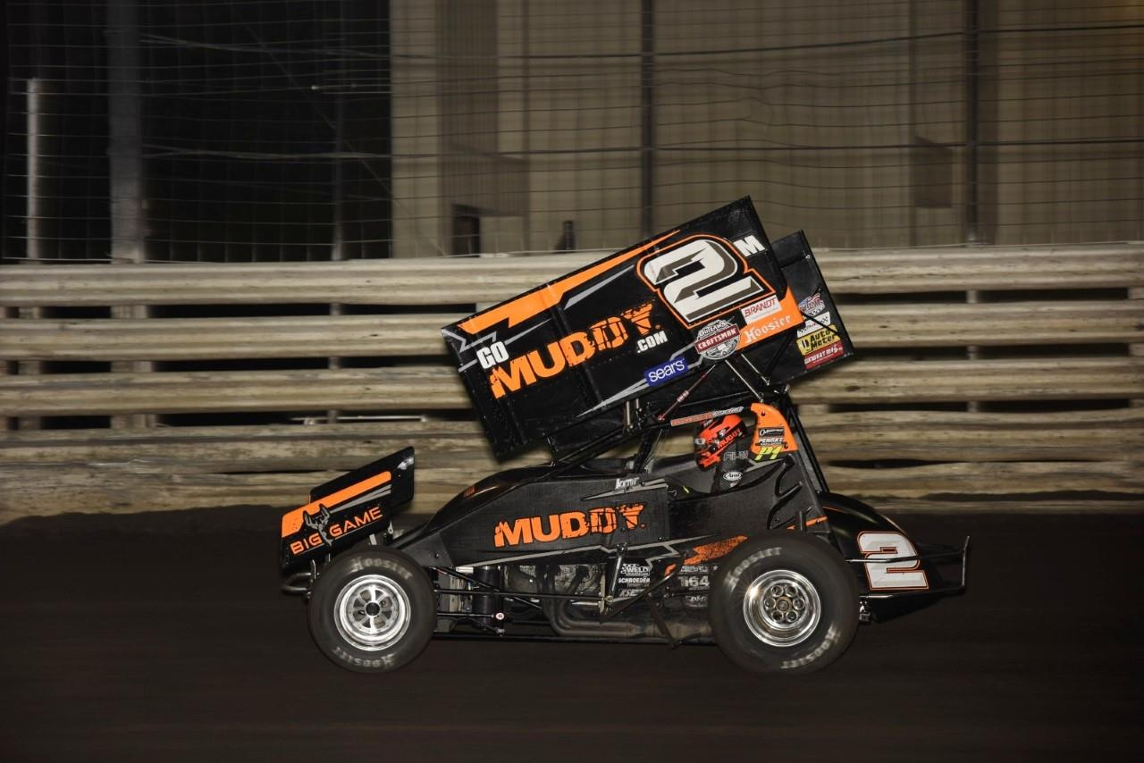 Kerry Madsen was the 2018 Midwest Thunder Sprints presented by www.OpenWheel101.com champion (Paul Arch Photo)
