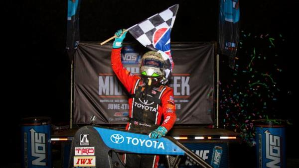 Tanner Thorson Triumphs in Frenzied IMW Round at Putnamville