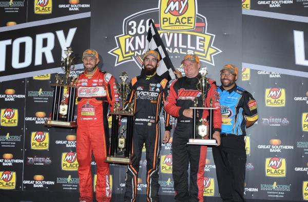 James McFadden Wins Tug of War with Brian Brown to Win the MyPlaceHotels Knoxville 360 Nationals presented by Great Southern Bank!