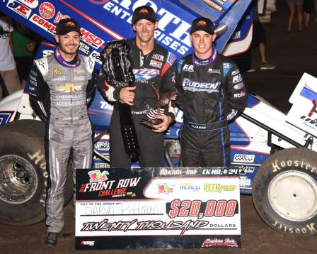 Daryn Pittman won his fourth Front Row Challenge and earned $20,000 (Paul Arch Photo)