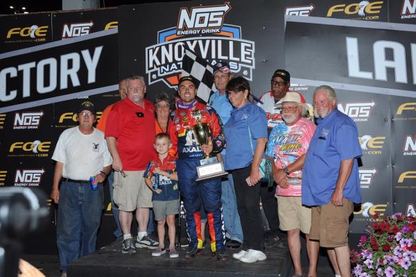 David Gravel Prevails on Night #2 of NOS Energy Drink Knoxville Nationals presented by Casey's General Stores!