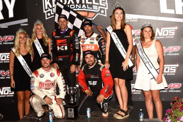 Kerry Madsen Wins, Logan Schuchart, Shane Stewart and Dominic Scelzi Transfer to Saturday's NOS Energy Drink Knoxville Nationals presented by Casey's General Stores Finale!