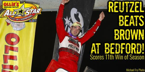 Aaron Reutzel Rolls to 11th All Star Win of 2019 During Thursday Night Bedford Visit