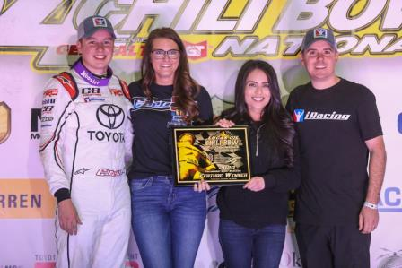 Christopher Bell was victorious on Thursday night at the Chili Bowl (Dave Biro - DB3 Imaging)