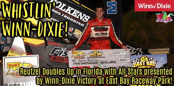 Aaron Reutzel Scores Second Consecutive All Star Victory with Winn-Dixie Triumph at East Bay Raceway Park