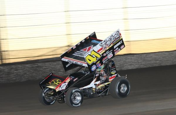 David Gravel Wins in Thrilling Fashion in World of Outlaws Return to Knoxville!