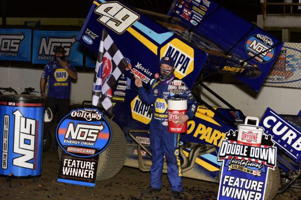 Family Feud: Brad Sweet Holds Off Kyle Larson for I-55 Win