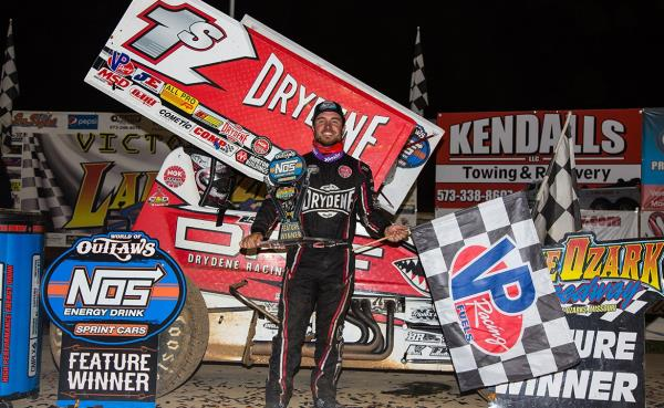 Lake Shark: Logan Schuchart Sails to World of Outlaws Win at Lake Ozark Speedway