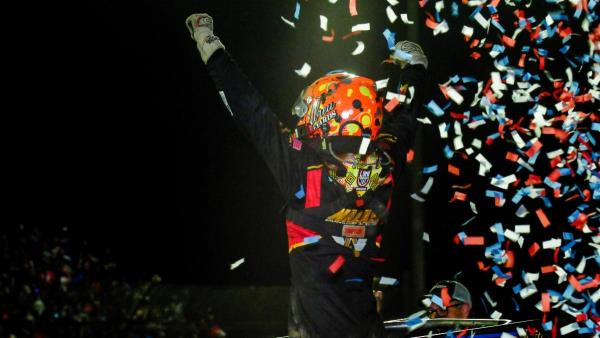 Tanner Thorson Motors to Photo Finish Victory at Kokomo; Kyle Larson Wins Indiana Midget Week Title