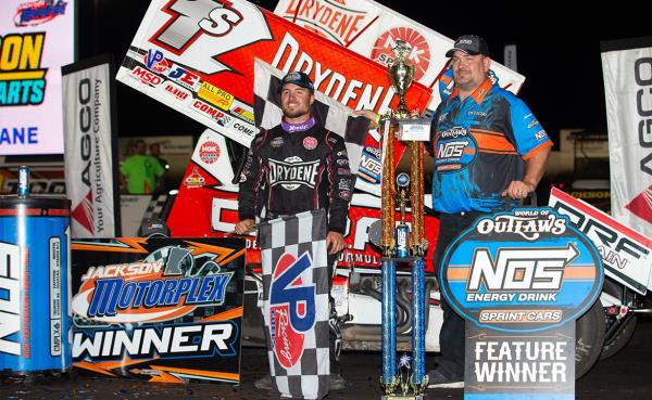 Marathon Man: Logan Schuchart Ends Long Night at Jackson Motorplex with Big Win