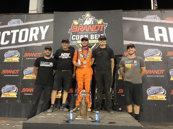 Tyler Courtney Victorious on Night #1 of the Corn Belt Nationals!