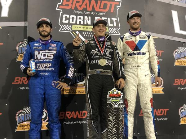 Brady Bacon Harvests His Second Corn Belt Nationals Championship in a Row!