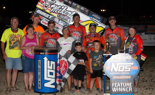 Home Away from Home: David Gravel Claims Fourth Win at Wilmot Raceway