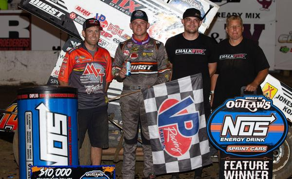 Better Than the First: Parker Price-Miller Holds Off Donny Schatz for Second Career Victory