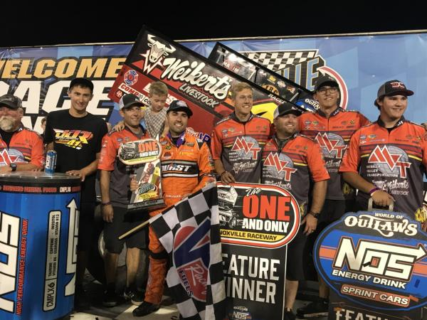 David Gravel Streaks to Victory on Night #2 of Knoxville