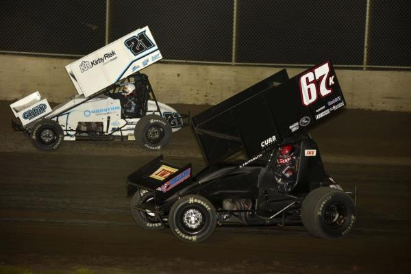 Kerry Madsen Returns to the Top of Midwest Thunder Sprints Presented by OpenWheel101.com Standings!