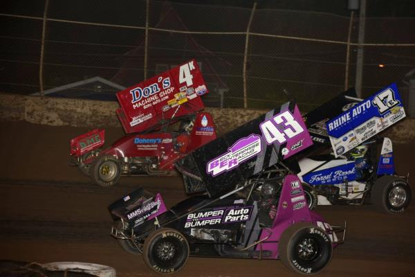 Down to Five Races with Midwest Sprint Car Series Presented by OpenWheel101.com!