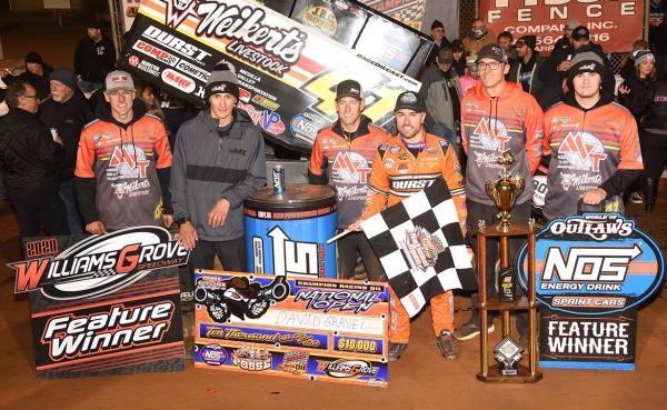 Opening Attack: David Gravel Wins at Williams Grove in His 600th Start