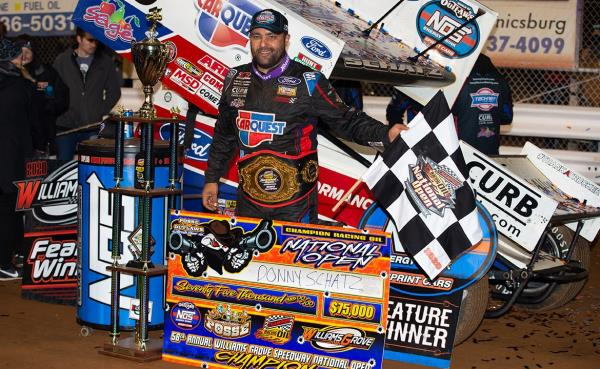 Just What He Needed: Donny Schatz Claims Sixth National Open Title, $75,000 Top Prize