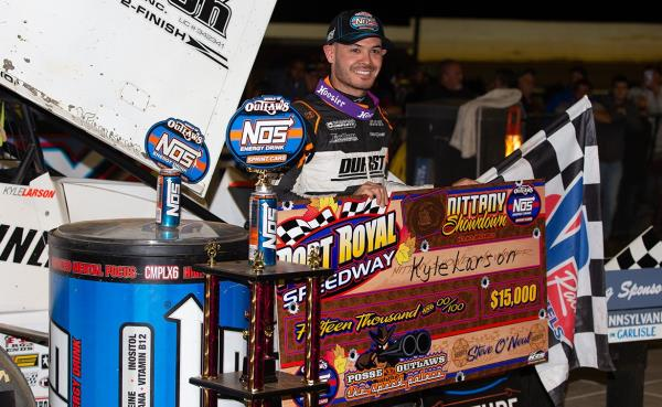 Royal Sweep: Kyle Larson Claims Back to Back Victories at Port Royal