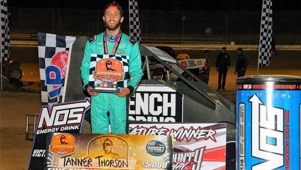 Tanner Thorson Throttles to Leffler Memorial Victory