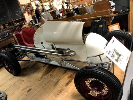 "Ted Horn's ""Baby"" is residing at the Eastern Museum of Motor Racing"