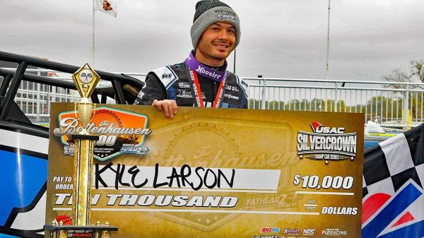 Kyle Larson Wins Bettenhausen 100; Justin Grant is USAC Silver Crown Champ