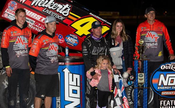 Honor and Privilege: Shane Stewart Wins in Debut with Jason Johnson Racing at Lakeside