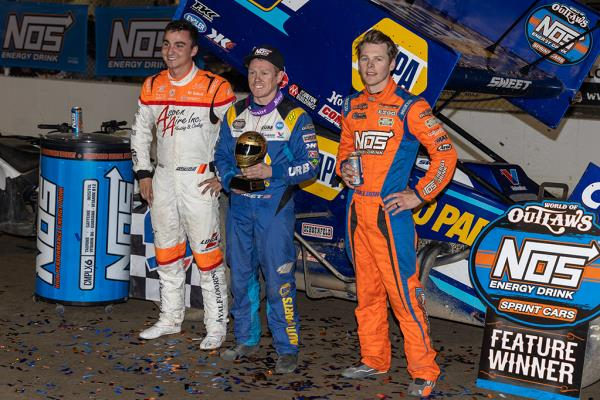 Same Brad Sweet, Different Day: The Big Cat Sweeps I-55 for Fourth Consecutive Win