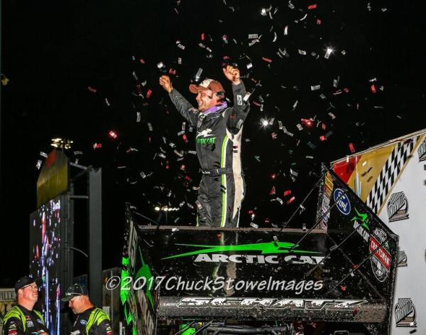Donny Schatz Brings the Big Guns to Knoxville Saturday!