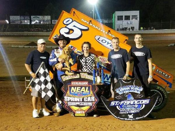 Brad Loyet - Third Win of Season Comes at Farmington!