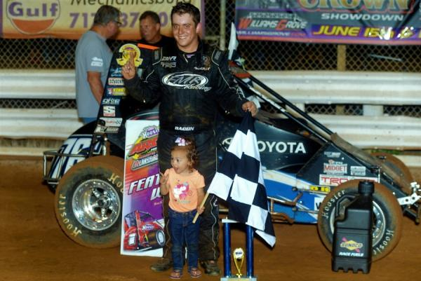 Brady Bacon - First Win at Williams Grove!
