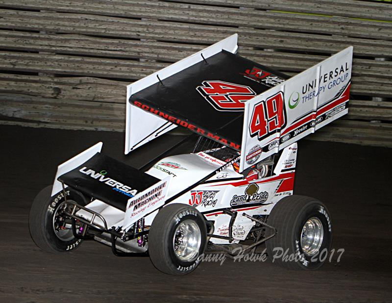 Josh races at Knoxville (Danny Howk Photo)