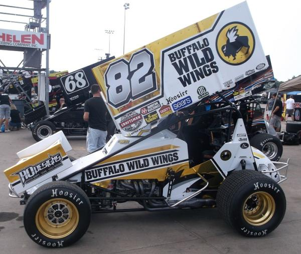 Car Shots from Night #1 of the Knoxville Nationals