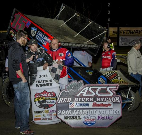 Sam Hafertepe Jr. - Win at Creek Marks One Step Closer to ASCS Title!