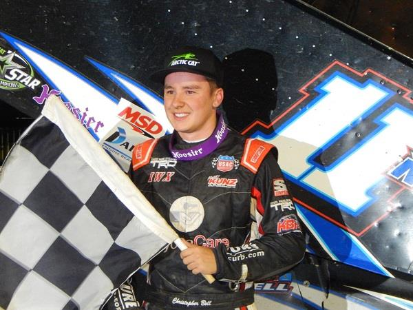 Christopher Bell took the All Star feature at Wayne County Speedway Saturday