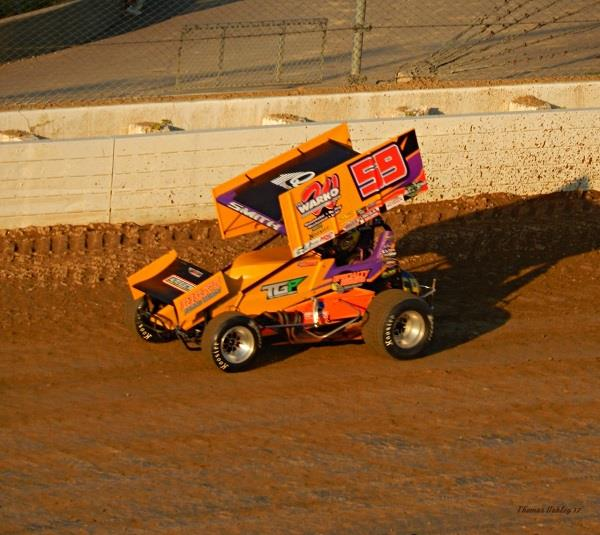 Ryan Smith swept the night with the All Stars at Mansfield