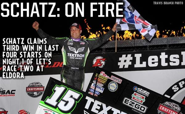 Schatz Scores Third Win in Last Four Starts on Night One of Let