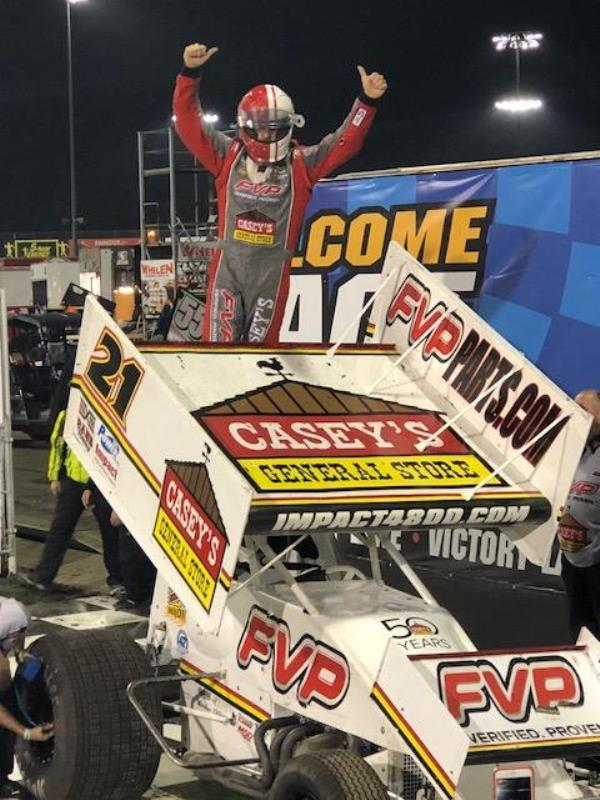 Brian Brown Goes Back to Back for $4,000 at Knoxville!