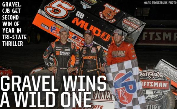 David Gravel Wins a Wild One at Tri-State