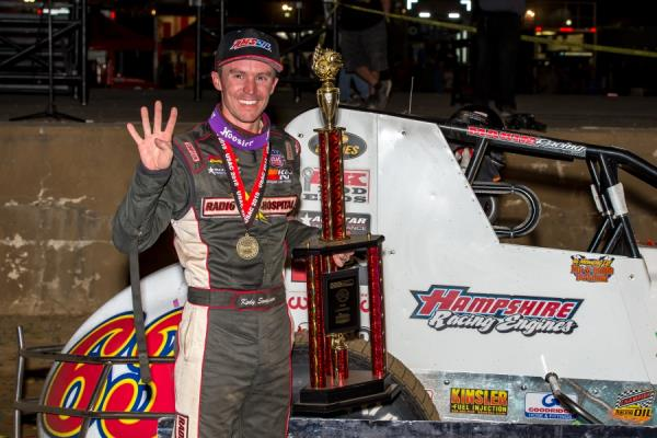 Swanson Equals Unser with Fourth Straight Hoosier Hundred Win