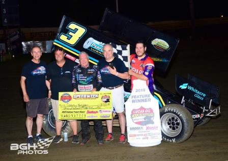 Swindell Triumphs with Lucas Oil ASCS in First Creek County
